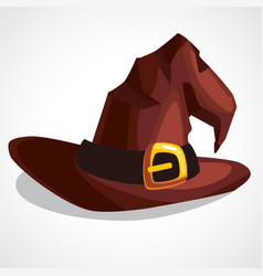 A witch s hat vector