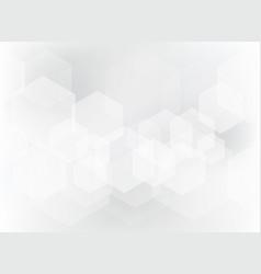abstract geometric hexagon overlay pattern vector image