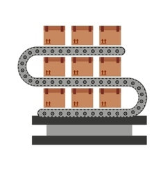Band machine boxes icon vector