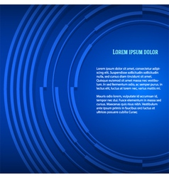 Blue business background presentation booklet vector image