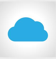 cloud icon multicolored weather icon vector image