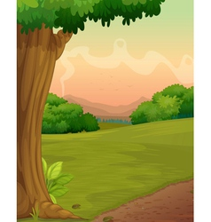 country path vector image