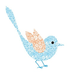 Dreamy bird vector
