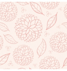 eamless floral vector image
