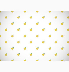 Horizontal card pattern with cartoon yellow vector