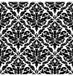 Seamless pattern in damask style vector