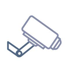 surveillance camera icon vector image