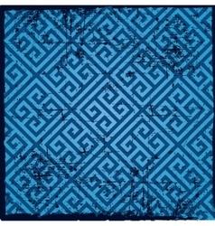 Background-greek pattern vector image