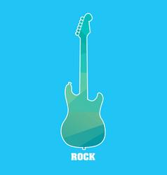 diamond guitar vector image vector image