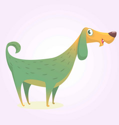 colorful doggy icon image vector image vector image