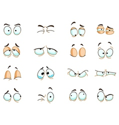 eyes expressions vector image