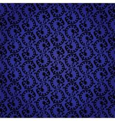 Vintage seamless pattern background vector image