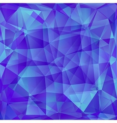 Abstract polygone background vector image