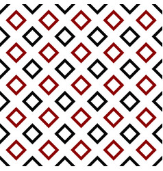 Abstract repeating square pattern background vector