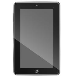 Black tablet PC eps10 vector
