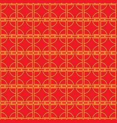 chinese seamless pattern minimal china style vector image