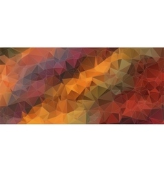 colorful composition with triangle shapes vector image
