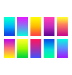 gradient colorful backgrounds abstract vector image
