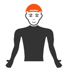Man body icon vector