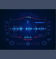 soundengineer vector image