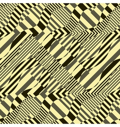 ornate striped background vector image