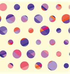 concept modern polka dot seamless pattern surface vector image vector image