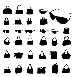 Fashion silhouettes vector