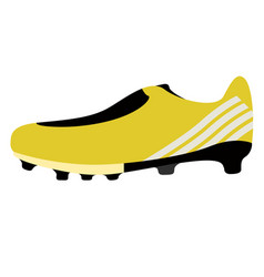 isolated soccer cleat icon vector image