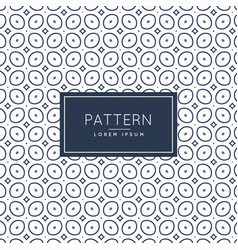 Pattern background with oval shapes vector