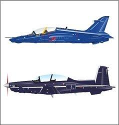 Plane fighter vector