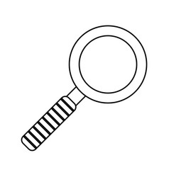 search innovation find outline vector image