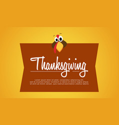 thanksgiving background style collection stock vector image