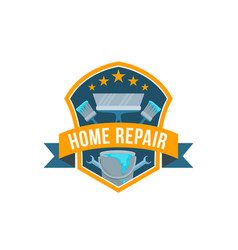 Work tools icon for home repair vector