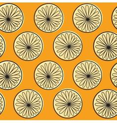 Orange texture or pattern vector image vector image
