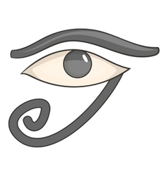 Egypt god Ra symbol icon cartoon style vector image vector image
