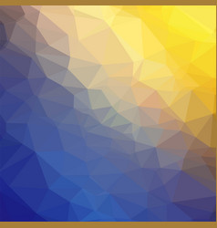 abstract colorful geometric ornamental triangle vector image