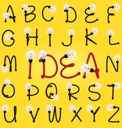 alphabet set 03 vector image