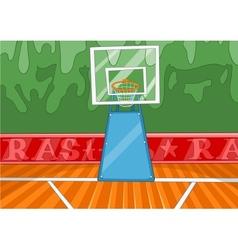 Basketball Stadium vector image
