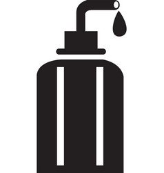 Bathroom cleaner icon isometric bathroom vector