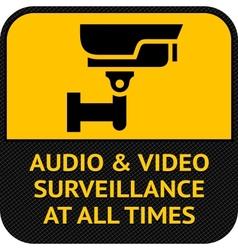 Cctv symbol pictograph security camera vector