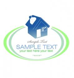 Real estate design element vector