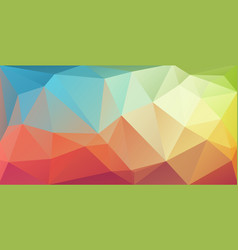 super horizontal triangle cover banner vector image