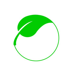 Vegan food diet icon vector