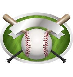 baseball champions bat vector image