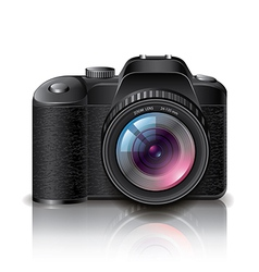 object photocamera vector image vector image