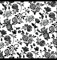 rose wallpaper vector image