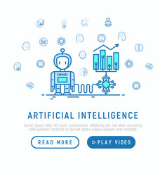 Artificial intelligence helps to increase profit vector