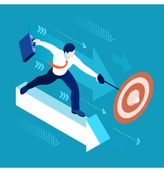 Business Graph 04 People Isometric vector