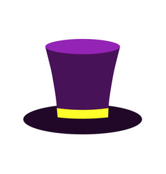 Colorful carnival hat vector