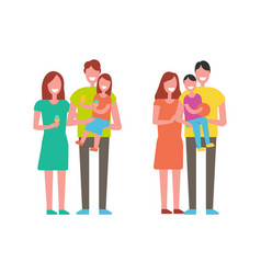 Family happy together people vector